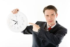 Be in time! Royalty Free Stock Image
