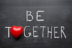 Be together Royalty Free Stock Photography