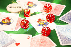 Be ware of gambling Royalty Free Stock Photography