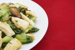 Be*wegen-gebraden brassica vegetariër Stock Fotografie