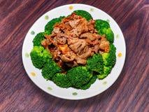 Be*wegen-gebraden rundvlees met XO-Saus Stock Afbeelding