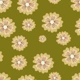 Beży kwiaty Obraz Stock
