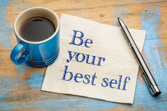 Free Be Your Best Self Royalty Free Stock Photography - 78339927