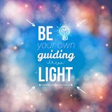 Be Your Own Guiding Light Concept Royalty Free Stock Photo