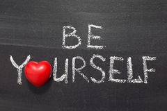 Be yourself Royalty Free Stock Images