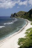 Beach 1. Sabtang Island Beach at Batanes, Philippines royalty free stock image
