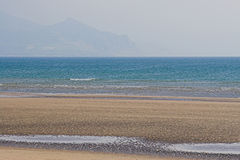 Beach 1. A secluded beach in Wales, Britain Stock Photography