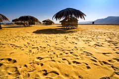 Beach. Red Sea. Egypt. Sinai. Taba stock images