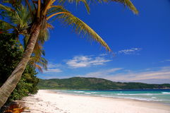 Beach. Beautiful beach on tropical island Stock Image