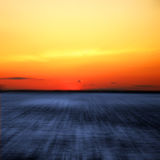 Beach. Blurred sunset at the Indian River campgrounds in Delaware Stock Images