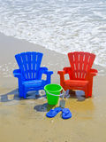 At The Beach Royalty Free Stock Photography