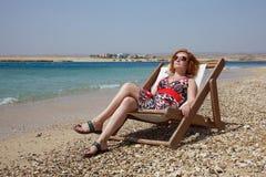 On beach stock photo