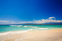 Beach. Summertime at the beach. Indonesia Royalty Free Stock Images