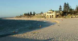 Beach. Cottesloe Beach, Perth, Western Australia royalty free stock images