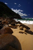 The Beach. One of the beaches at Port Stephens area, Australia Royalty Free Stock Photo