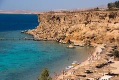 Beach. On the Read Sea, Egypt Royalty Free Stock Image