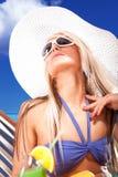 On the beach Royalty Free Stock Photos