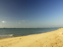 Beach. Morning by the beach at East Coast Park, Singapore Royalty Free Stock Images