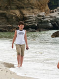 On the beach. Livadi Beach, Thassos, Greece Royalty Free Stock Photos