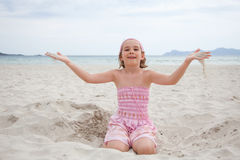 On beach Stock Images