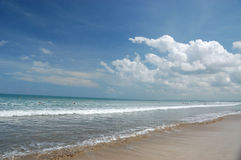 Beach. Is nice to have a holiday on beach Royalty Free Stock Photos
