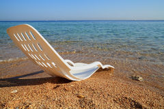 Beach. In Egypt. Red Sea coast Stock Image