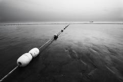 The beach. On the fishermen's hope Stock Image