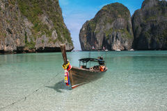 The beach. Phi Phi Leh in Thailand the scene of the film The Beach Stock Photography