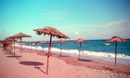 Beach. Of Aegean Sea, Greece royalty free stock photos