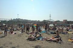 Beach. Italian beach Royalty Free Stock Image