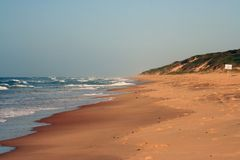 Beach. In Mozambique Stock Image