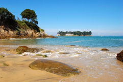 The Beach, Douarnenez, Brittany Stock Image