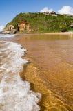 Beach. At Geriba, Brazil stock photography