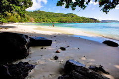 Beach. A beautiful beach on seychelles Stock Photo