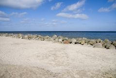 Beach. The beach in travemuende, germany Stock Photography