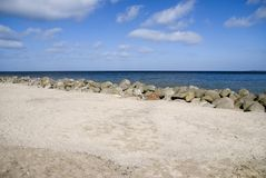 Beach. The beach in travemuende, germany Royalty Free Stock Photography