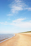 Beach. Beautiful sandy beach (Latvia, Europe Royalty Free Stock Image