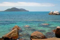 Beach. Scene in Cairns, Australia Royalty Free Stock Photos