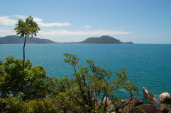Beach. Scene in Cairns, Australia Royalty Free Stock Photography