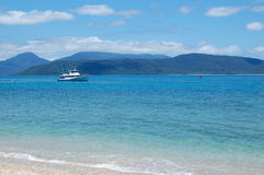 Beach. Scene in Cairns, Australia Stock Image