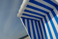 Beach. Chair on the island sylt, germany Royalty Free Stock Photo