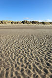 Beach. Scene with sand dunes at Lifeboat Road, Formby Point, Sefton Coast, Merseyside UK Stock Images