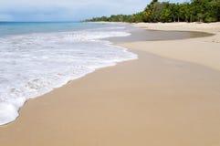Beach. Deserted beach in the carribean sea Stock Photo