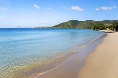 Beach. Big beach in martinique island Royalty Free Stock Photos