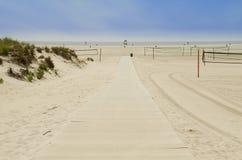 Beach. Scene Royalty Free Stock Photo