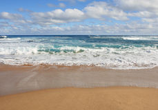 The Beach. Beach view from the Great Ocean Road, Victoria, Australia Stock Photos