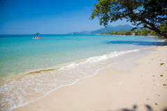 Beach. Photo of beach on island in Thailand, Ko Chang Stock Photography
