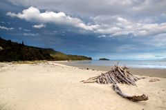 Beach in the Abel Tasman National Park Stock Photos