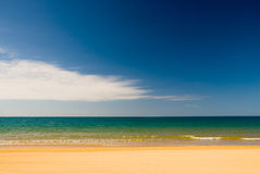 Beach in Abel Tasman National Park Royalty Free Stock Photography