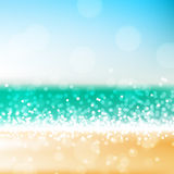 Beach abstract background Royalty Free Stock Photos